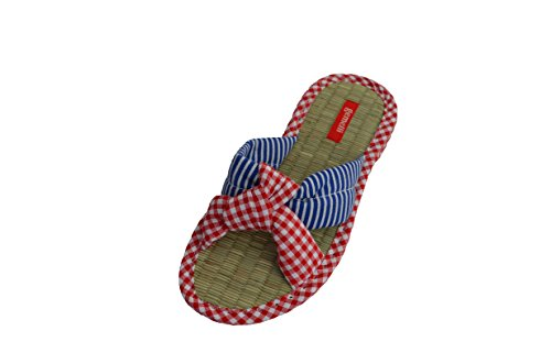 Gemelli Women'S Jessie Slipper Red 10 Us front-39491