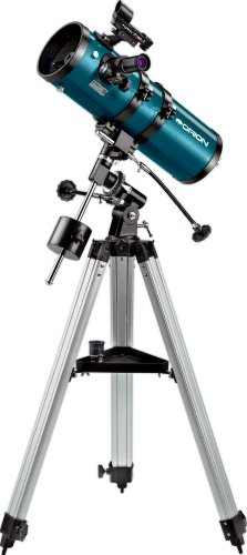 Buy Discount Orion 09798 StarBlast 4.5 Equatorial Reflector Telescope, Metallic Green