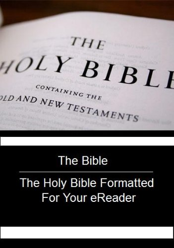 The Bible - The Holy Bible Formatted For Your Ereader front-940300