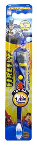 Firefly Toothbrush Batman Flashing 1 Min Timer (2 Pack) (Batman Brush compare prices)