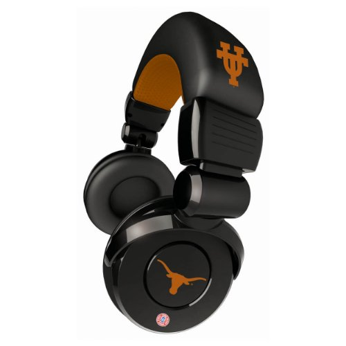 Ncaa Texas Longhorns Pro Dj Headphones With Microphone