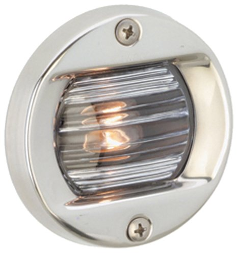 Attwood Corporation 6356D7 12V Round Transom Light Flush Mount