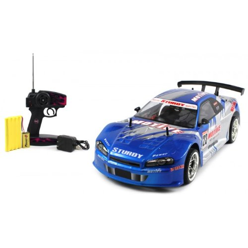 Electric Full Function 1:10 Ct Speed Racing Nissan Skyline R34 10+Mph Rtr Rc Car (Colors May Vary)