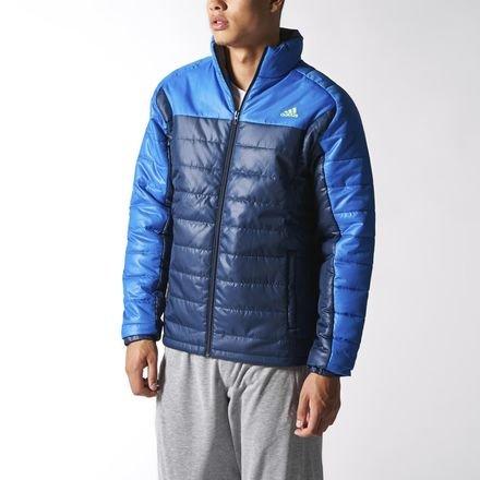 adidas -  Giacca - Piumino - Uomo Navy/Blue X-Large