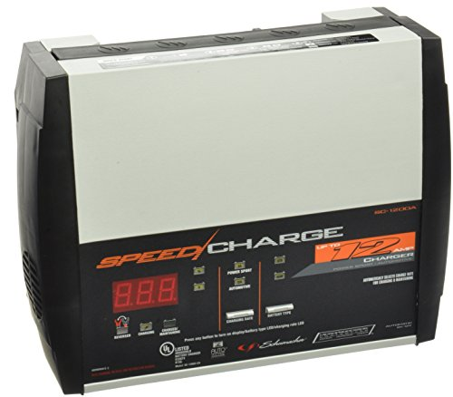 Schumacher SC-1200A CA SpeedCharge 3 6 12 Amp Charger Maintainer Tester