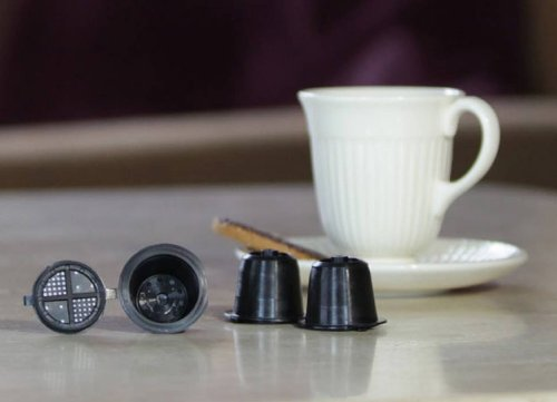 Purchase CoffeeDuck Refillable Coffee Capsules For Nespresso - 3 Pods - Thes Espresso Cups fit all Nespresso machines from after October 2010 - Please make sure you have the correct machine before purchasing - CoffeeDuck