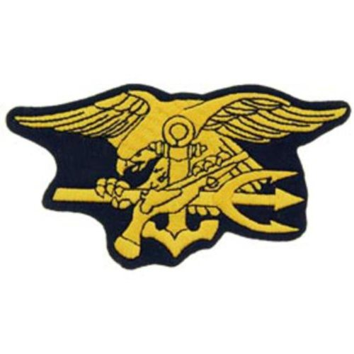 "U.S. Navy Seal Trident Patch 4 3/4"""