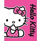 Girls/Kids Hello Kitty Fleece Blanket/Throw
