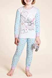 Pure Cotton Tatty Fairy Pyjamas [T86-4760C-S]