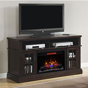 Classicflame Dakota Infrared Electric Fireplace Entertainment Center In Caramel Oak - 26Mm1066-O128