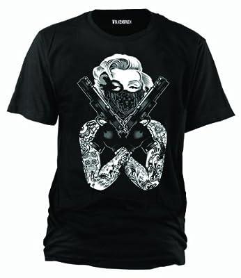 Wolkenbruch® T-Shirt Monroe Gangster, Gr.S bis XXXXXL