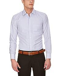 Arihant Men Cotton Blend Formal Striped Shirt (AR72350140)