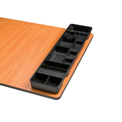 Alvin TT599-1 TABLE AND DESK TRAY WHITE