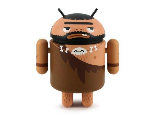 Caveman Android Series 4 Designer Vinyl Mini Figure Kong Andri - 1