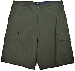 Club Room Mens Cargo Shorts Camo Green (40)