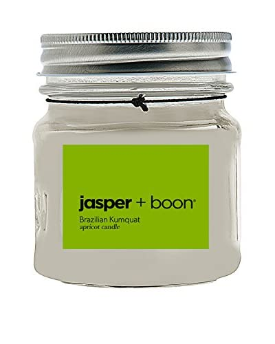 Bluewick Candles 8-Oz. Brazilian Kumquat Jasper + Boon Mini Mason Candle