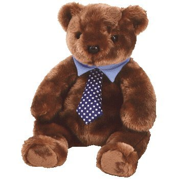 Ty Beanie Buddies Hero - Father's Day Bear - 1