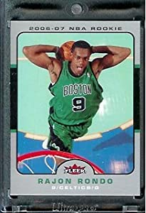 2006-07 Fleer # 217 Rajon Rondo Boston Celtics Basketball Rookie Card - Mint... by Fleer