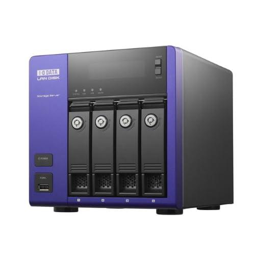 I-O DATA WSS 2008 R2搭載デュアルコアAtom採用ハイパフォーマンスNAS 4ドライブモデル 8TB HDL-Z4WS8.0A