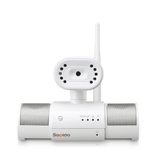 Sapido Ipjc1N Wireless Mobile Router, Ip Camera And Audio Speaker Combo (Baby Monitor And More); Ap, Wifi Ap front-210545