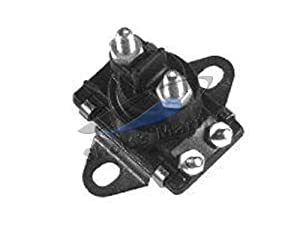 Solenoid, stepped mounting plate, outboard starters & MerCrusier Starters and Power Trim