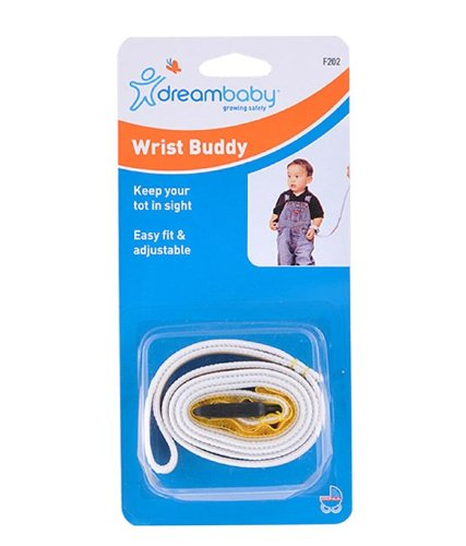 Check Out This Dreambaby Wrist Buddy Safety Tether - Yellow