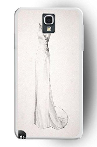 Sprawl Romantic Design Hard Plastic Cover Marriage Samsung Galaxy Note 3 Case -- Wedding Dress Quick Draw