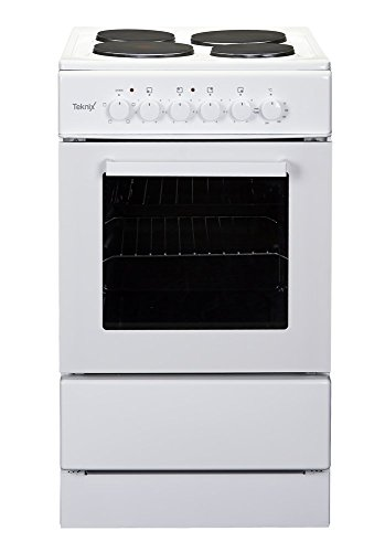 Teknix TK50SE 50cm Sigle Cavity Electric Cooker in White or Black