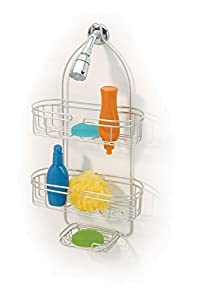amazon com hanging bath shower caddy by better bath home the better bath toy organizer amp shower caddy heavy duty