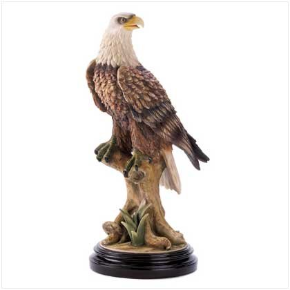 Mountain Eagle Statue 2PK