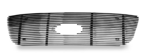 APS F65722A Polished Aluminum Billet Grille Bolt Over for select Ford F-150 Models (Harley Ford F150 Accessories compare prices)