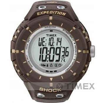 Buy Timex Expedition Adventure Tech Shock with Compass Watch, T49611, Indiglo, 200 Meter, Compass