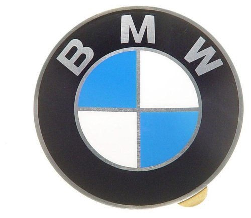 OES Genuine BMW Wheel Cap Emblem - 64.5mm Diameter (1995 Bmw 325i Emblem compare prices)