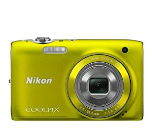 Nikon COOLPIX S3100 14 MP Digital Camera with 5x NIKKOR Wide-Angle Optical Zoom Lens and 2.7-Inch LCD (Yellow)