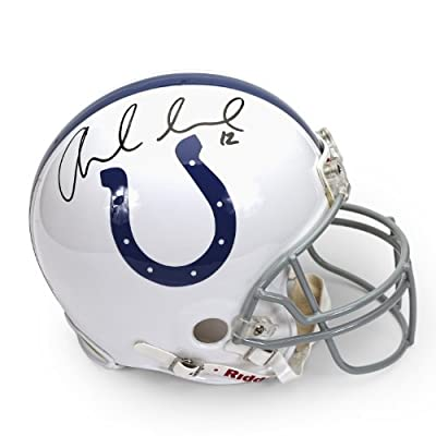 Andrew Luck Autographed Indianapolis Colts Mini Helmet ~Open Edition Item~ Panini Authentic