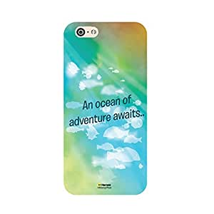 Hamee Finding Dory Official Licensed Designer Cover Hard Back Case for iPhone 7 (An Ocean Of Adventure 2)