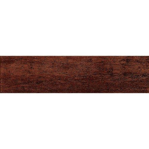 Samson 1021069 Barrique Matte Floor Tile, 6X24-Inch, Mogano,  14-Pack