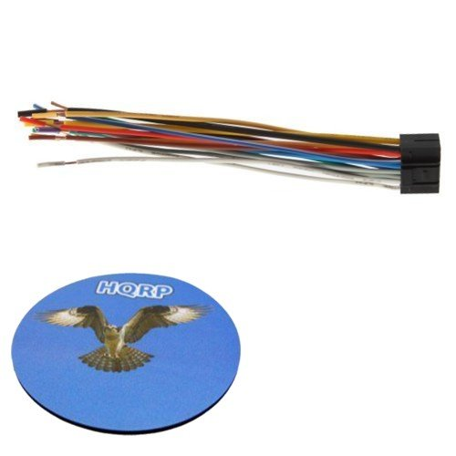 Hqrp 16pin Wiring Harness Cable For Kenwood Krc 609 Krc 759r Krc