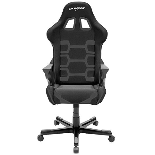 DXRacer-OHOC168N-Origin-Series-Black-Gaming-Chair-Includes-2-free-cushions-and-Lifetime-warranty-on-frame