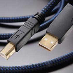 フルテック USBケーブル【A】タイプ⇔【B】タイプ(0.6m)アルファー・デザイン・ラボ FORMULA2-B-0.6M