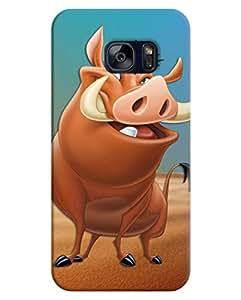 FurnishFantasy 3D Printed Designer Back Case Cover for Samsung Galaxy S7