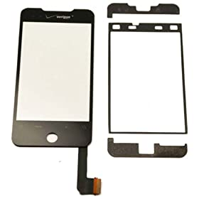 Generic Glass Touch Screen Digitizer Replacement Part + Adhesives + Tool Kit For HTC Droid Incredible
