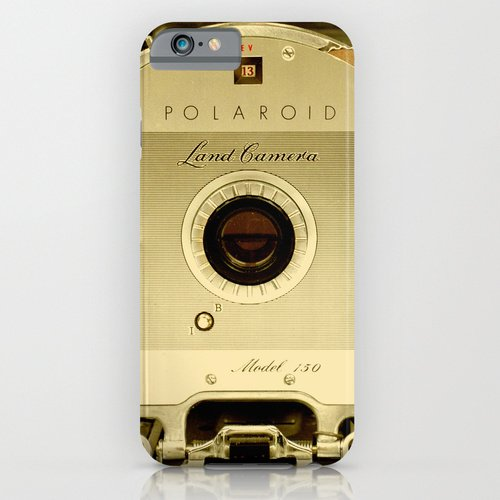 iPhone6ケース society6(ソサエシティシックス) Polaroid Land Camera - Model 150アンティークカメラ  デザイナーズiPhoneケース 正規輸入品