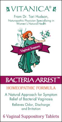Bacteria Arrest - Homeopathic Formula Vitanica 6 Suppository