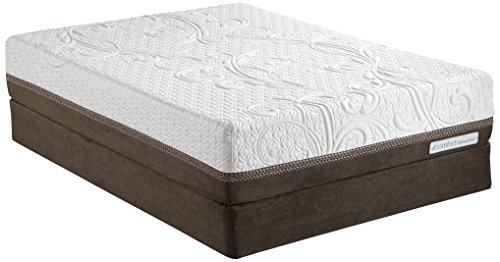 Luxury Home Icomfort Direction Cushion Firm Acumen Memory Foam Mattress Set By Serta, Queen