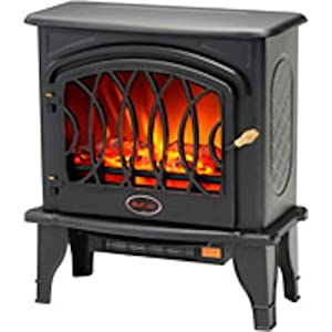 Electric Heater Fireplace Looks Like A Pot Belly Stove But Infrared Heaters Are