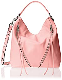 Rebecca Minkoff Moto Hobo Bag, Rosa, One Size