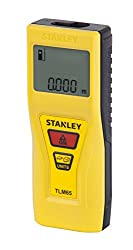 Stanley Laser Distance Measurer - 20 Meter, Yellow