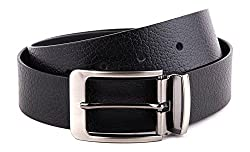 WildHide Men's Leather Belt (LTBLT001--42, Black, 42)