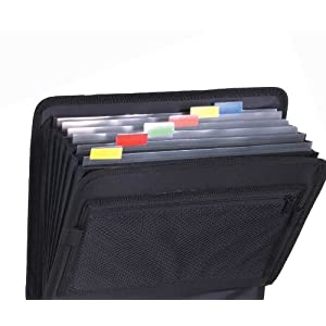 Case-It Velcro Closure 2-inch 3-Ring Binder with Tab File